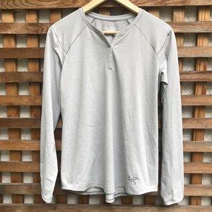 Arc'teryx Kadem Henley Long Sleeve Shirt S